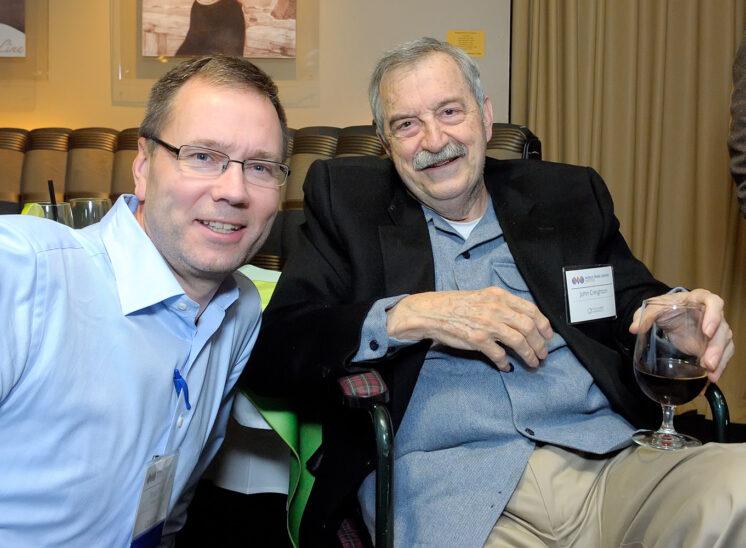 World Trade Center Seattle with business leaders Brad Tilden (Alaska Airlines) and Jack (John) Creighton (Weyerhaeuser)
