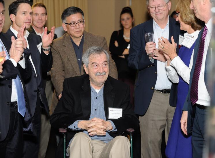 World Trade Center Seattle with business leader emeritus Jack (John) Creighton (Weyerhaeuser)