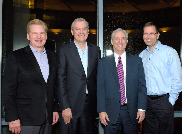 World Trade Center Seattle, business leadership from Port of Seattle, Holland America, Virginia Mason, Alaska Airlines