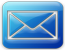 Blue email button (130x100px)