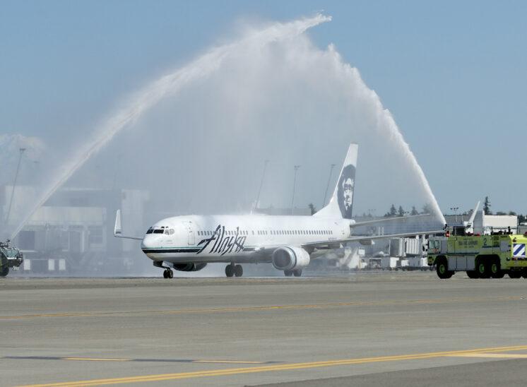 Pilot Walt Wagner, Retirement Celebration with Alaska Airlines