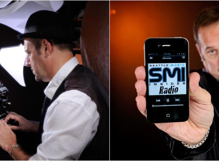 Brand development shots for SMI founder, Greg Roth