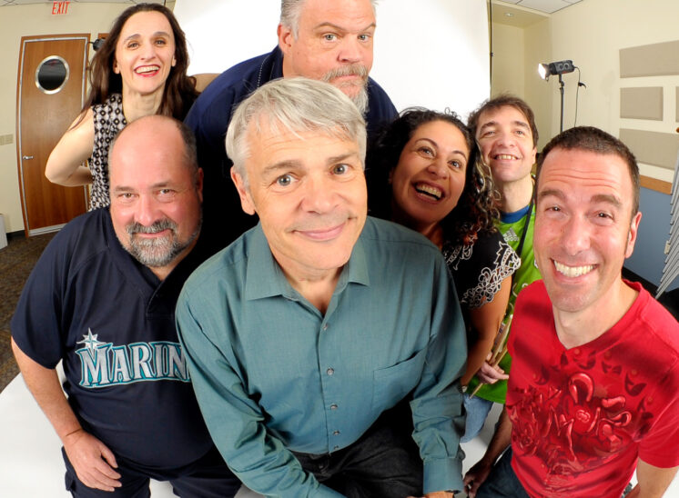 "The Team members of popular talk radio, ""The Bob Rivers Show"""