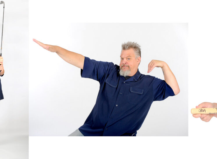 The comic genius of Spike O'Neill, member of the popular talk radio