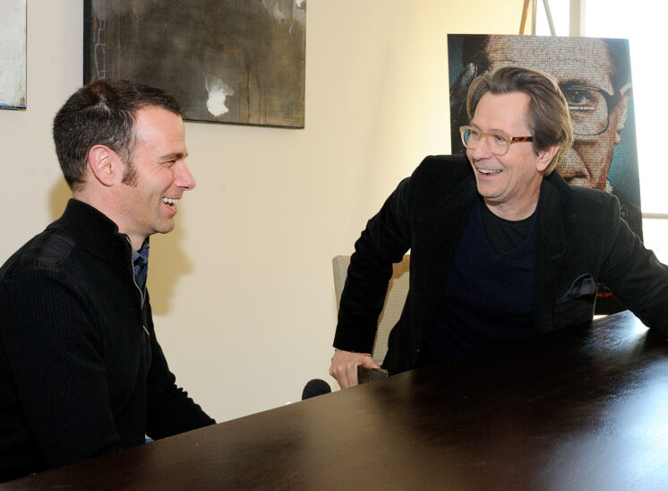 Gary Oldman interview with Arik Korman. © Jerry and Lois Photography